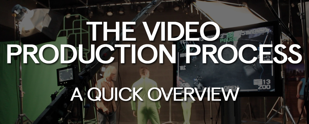 The Video Production Process - A Quick Overview