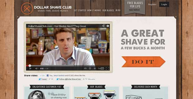dollar-shave-club-landing-page